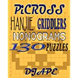 Picross, Hanjie, Griddlers, Nonograms: 130 Puzzlesby Dj Ape