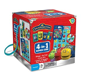 Chuggington Travel Cube