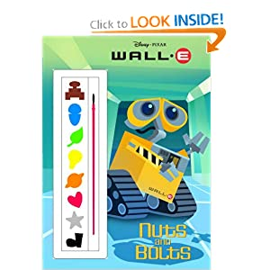 Nuts and Bolts Wall-E Paint Box Book!