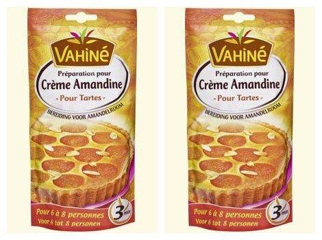 Vahiné - Préparation pour gâteaux - Crème amandine - lot de 2