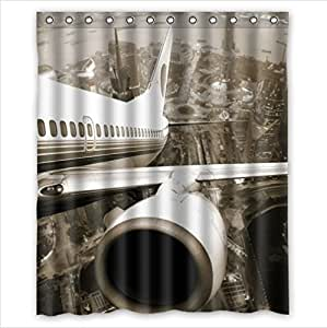 Air Curtains For Restaurants Radio Shower Curtain