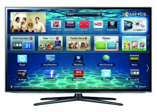 Samsung UE60ES6300 60-inch 3D Full HD 1080p Smart 3D LED TV with Wi-Fi built-in and Freeview HD and 2 x glasses included (New for 2012)