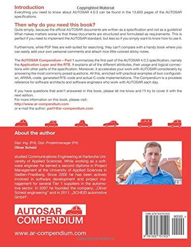 AUTOSAR Compendium - Part 1: Application & RTE: Volume 1