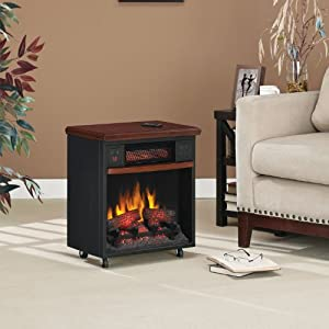 Powerheat Infrared Fireplace 20IF300GRA-C2