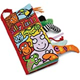Jellycat Soft Books, Silly Tails - 8 inches