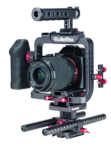 Rollei Rolleiflex 4K S-Cage - Jaula estabilizadora para cámara de vídeo, color negro
