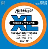 D'Addario EXL110 Electric Guitar Strings, Light