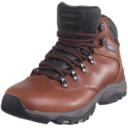 Hi-Tec Women's Altitude Glide Wp Brown Full Grain Hiking Boot O000848/043/01 7 UK, 40 EU, 9 US