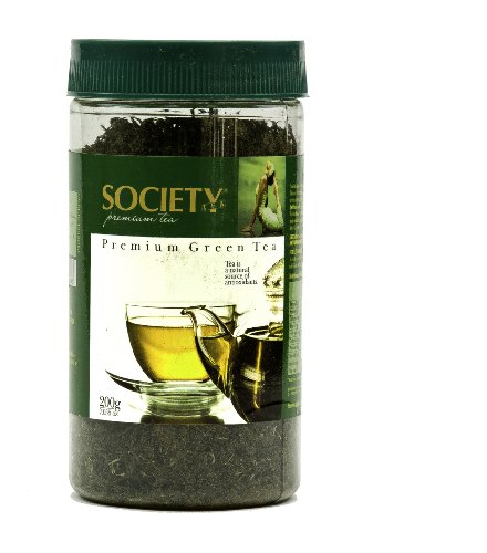 Society Premium Green Tea - Premium Loose Green Tea Leaves, 200G Jar