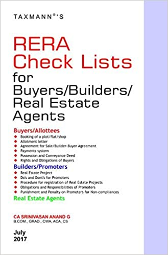 RERA Check Lists for Buyers /Builders/Real Estate Agents