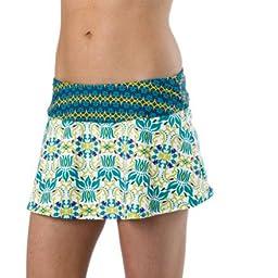 prAna Women\'s Sakti Swim Comfort Skirts XL BLUE