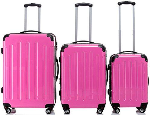 BEIBYE , Set di valigie Multicolore Peach Set(XL/L/M)