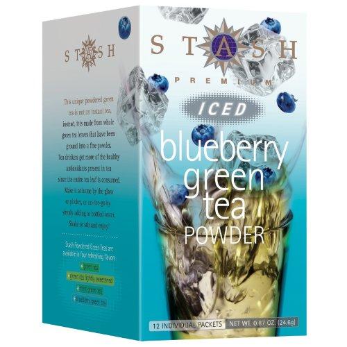 Stash Tea Blueberry Green Iced Tea Powder : Iced Tea