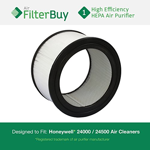 FilterBuy Honeywell Air Cleaner Replacement Filter for 13350, 13500, 13501, 13502, 13503, 13520, 13523, 13525, 13526, 13528, 50250, 50251, 52500, 63500, 83162, 83259, 83287, 83332 By AFB Hepa (Filter For Honeywell 50250 compare prices)
