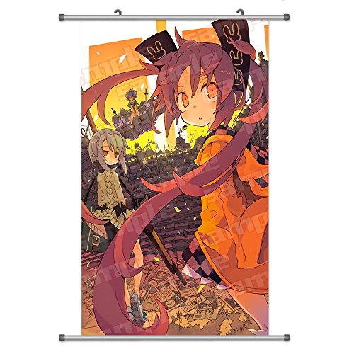 A Wide Variety of Black Bullet Anime Characters Wall Scroll Hanging Decor (Aihara Enju 1) (Black Bullet Anime Poster compare prices)