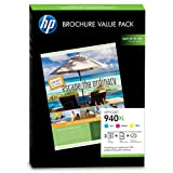 HP 940XL Professional Brochure Value Pack Original High Capacity Printer Ink Cartridge Set - HP940XL Fits HP Officejet Pro 8000, Officejet Pro 8500 series, Officejet Pro 8500A series
