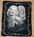Marilyn Monroe Smile Now' 50X60 Throw Blanket