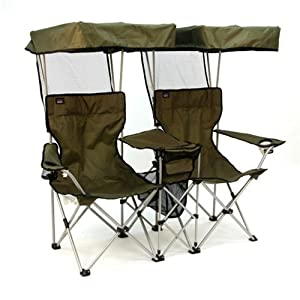 Folding Chair For Two With Individual