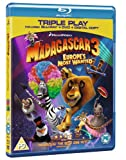Image de Madagascar 3: Europe's Most Wanted - Triple Play (Blu-ray + DVD + Digital Copy + Keep Calm Retro Bad