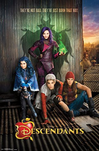 Descendants - Key Art - Movie Poster - 22x3