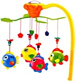 Dreamy Infrared RC Musical Spinning Baby Mobile With Gentle Light