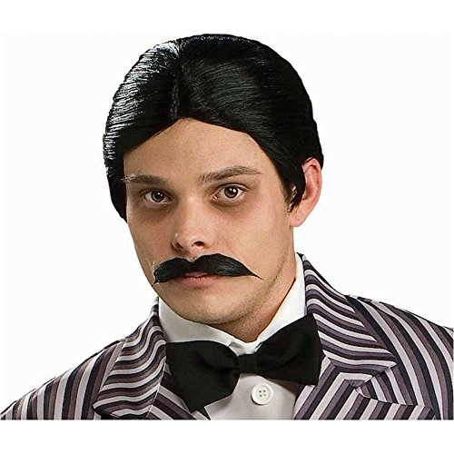 Addams Family Gomez Wig and Moustache