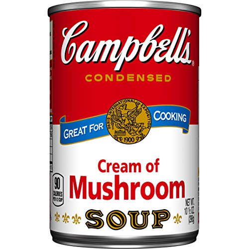 Campbell's Condensed Soup, Cream of Mushroom, 10.75 Ounce (Pack of 48) (Campbell Cream Of Mushroom compare prices)