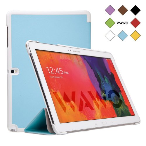 Wawo Samsung Galaxy Note & Tab Pro 12.2 Tablet Smart Fold Case Cover - Blue