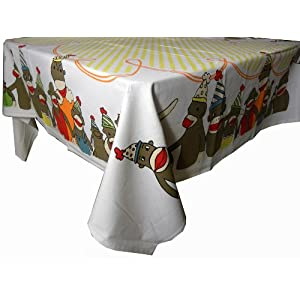 Funky Monkey Table Cloth