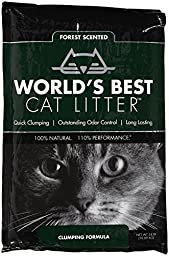 World\'s Best Forest Scented Clumping Litter - 24 lb