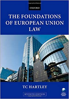 Hartley T, The Foundations of European Union Law Image