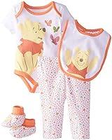 Disney Baby-Girls  Winnie The Pooh Girls 4 Piece Set