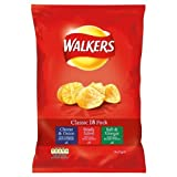 Walkers Classic Crisps 18 x 6pack