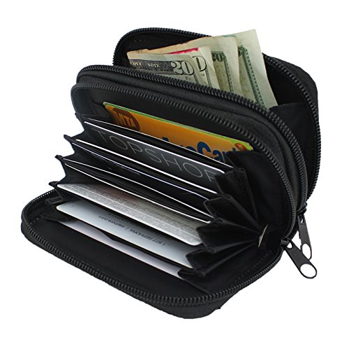 womens-rfid-blocking-wallet-leather-hde-identity-protection-credit-card-holder-black