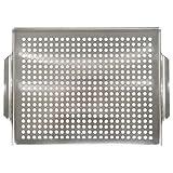 Mr Bar B Q 06032X Platinum Prestige Stainless Steel Grill Topper