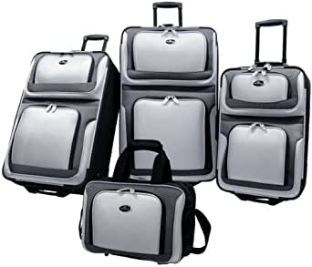 US Traveler New Yorker 4 Piece Luggage