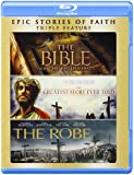 Bible / Greatest Story Ever Told / Robe [Blu-ray]