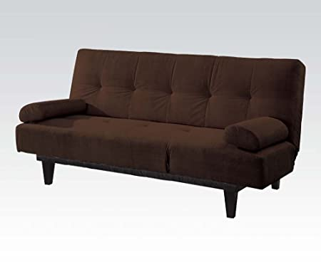 Acme 05855W-BR Modern Brown Microfiber Sleeper Sofa