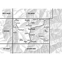 1329 Saas, topographische Wanderkarte Schweiz 1:25.000, Swisstopo