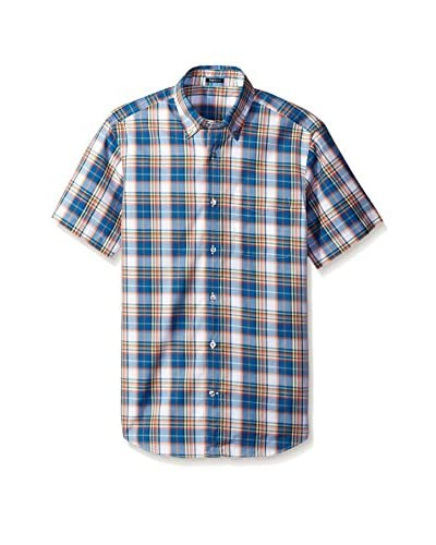 Ermenegildo Zegna Men's Plaid Shirt