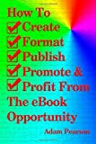 img - for How To Create, Format, Publish, Promote & Profit From The eBook Opportunity [Paperback] [2012] (Author) Adam Pearson book / textbook / text book