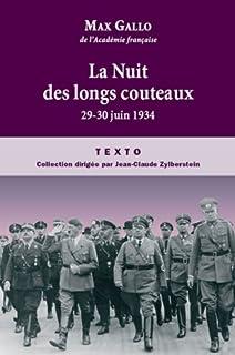 La Nuit des longs couteaux  : 29-30 juin 1934