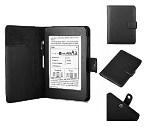 Swees® Amazon Kindle Paperwhite Étui/housse/case/cover Amazon pour Kindle Paperwhite + FILM et STYLET - Noir