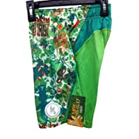 Shorts Performance Kiss Me I'm Irish Shamrock Ireland Green Size Youth Large