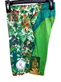 Shorts Performance Kiss Me I'm Irish Shamrock Ireland Green Size Youth Medium