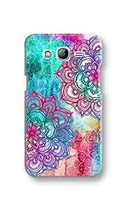 EYP Hot Doodle Pattern Back Cover Case for Samsung Grand 2 (7106)