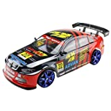 Large 4WD Drift Car 18 RC 1/10 Radio Control Electric RTR Racing Vehicle With Flash Light (Shell Painting May...