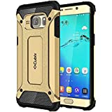 Galaxy S6 Edge+ Case Cubix Rugged Armor Case For Samsung Galaxy S6 Edge+ (Gold)