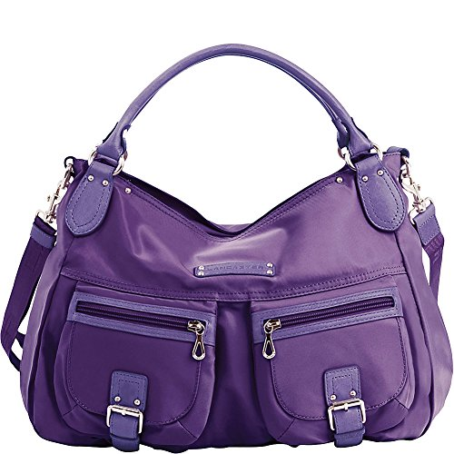 lancaster-paris-nylon-leather-traveler-violet