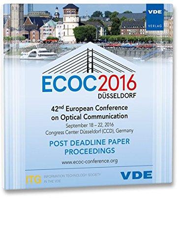 ecoc-2016-post-deadline-42th-european-conference-on-optical-communication-september-18-22-2016-congr
